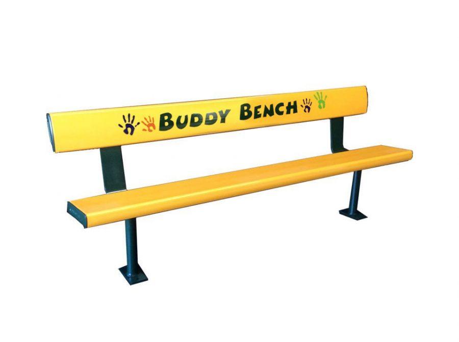 Aussie Buddy Bench Yellow