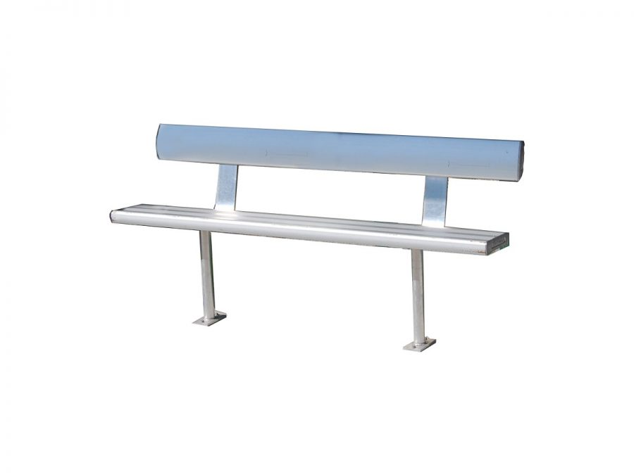 Plain Bench Seats with Backrest