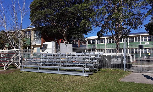 bab aluminium Dapto High School
