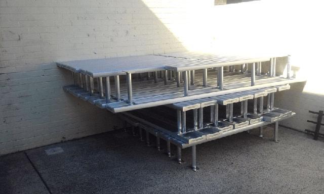 BAB Aluminium School Seating kanahooka