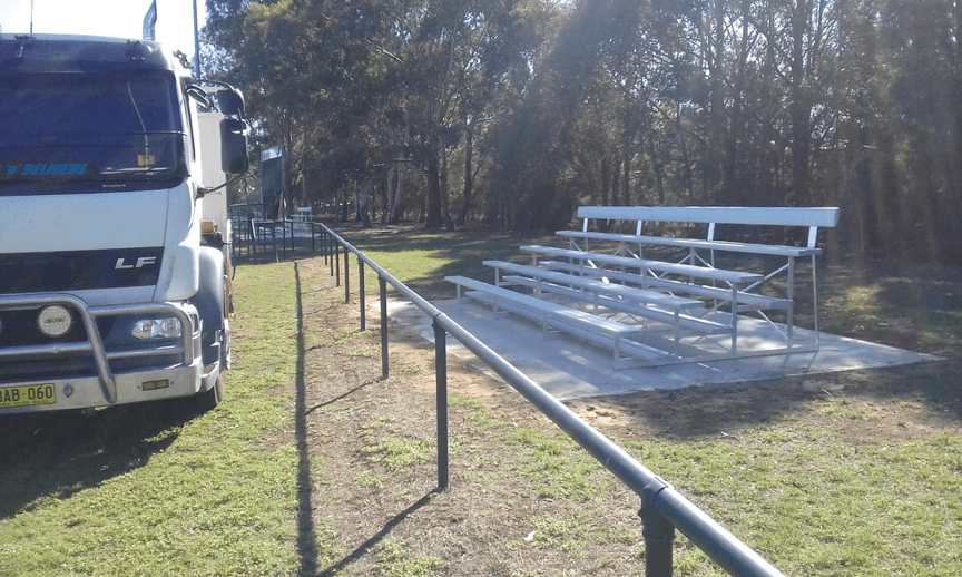 BAB Aluminium Grandstands penrith