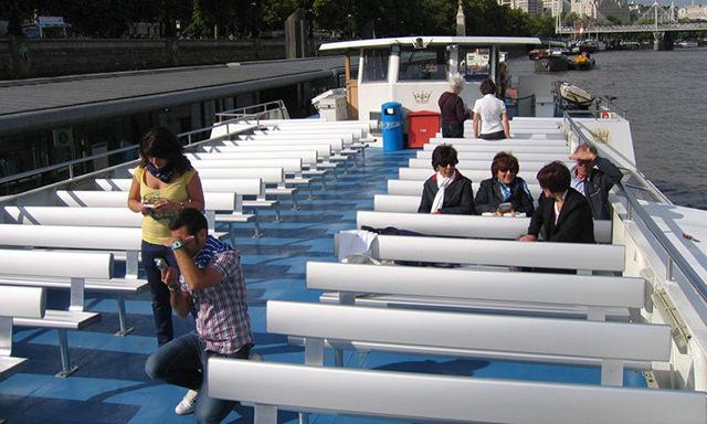 bab aluminium Crown River Cruises