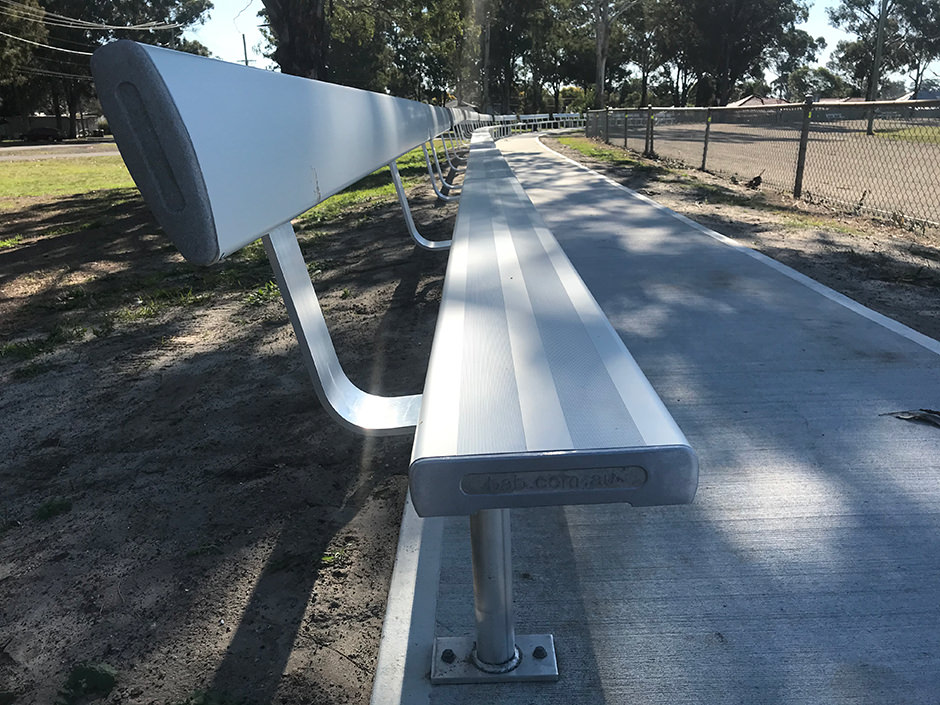 BAB Aluminium Grandstand Seating